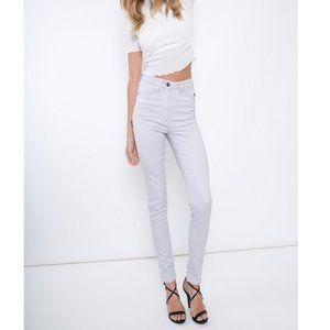 Kancan High Rise Super Skinny Pastel Purple Jeans